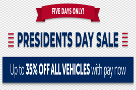 Presidents Day Sale PNG File