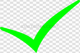 Green Tick PNG Image