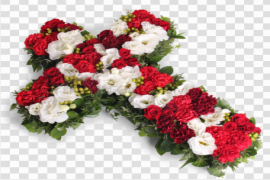 Funeral Flowers Bunch PNG Transparent Image