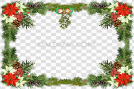 Christmas Frame PNG Picture