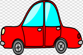 Vector Car Toy PNG File