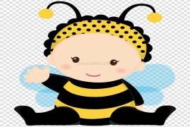 Bumble Bee Trail Baby PNG