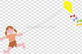 Vector Kite PNG Image