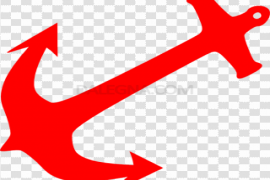 Red Anchor PNG Photos