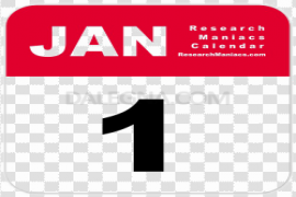 January PNG Photo