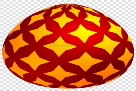 Red Easter Egg PNG Clipart