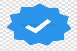 Instagram Verified Badge PNG Clipart