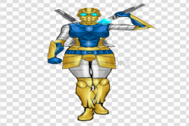Sci Fi Warrior PNG Photo