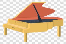 Piano Instrument PNG Image