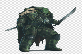 Sci Fi Warrior PNG Pic