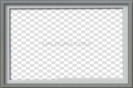 Rectangle Gray Frame PNG Image