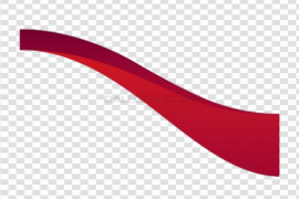 Red Wave PNG File