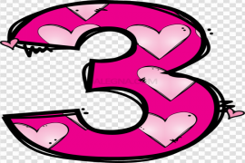 Cute Number PNG Image
