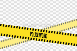 Keep Out Police Tape PNG Image
