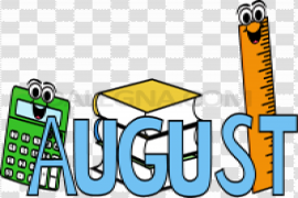 August PNG HD