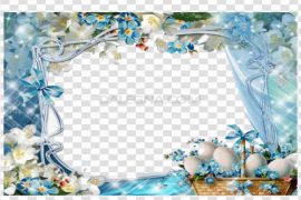 Easter Frame PNG Pic