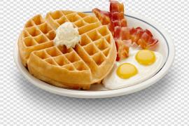 Waffles PNG Clipart