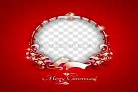 Christmas Collage PNG Pic