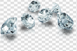 Diamond With Transparent Background PNG