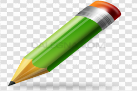 Green Pencil Icon PNG