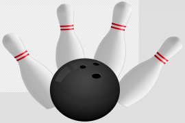 Bowling Strike PNG Clipart