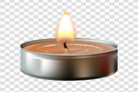 Christmas Candle PNG Clipart