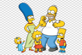 Cartoon The Simpsons PNG Clipart