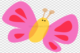 Cute Butterflies PNG Picture