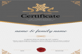 Certificate Background PNG