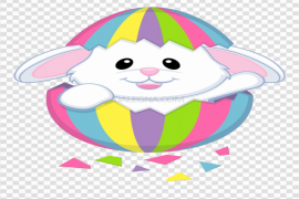 Cute Easter Bunny PNG Photos