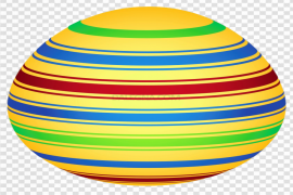 Yellow Easter Egg PNG Clipart