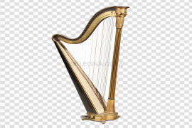 Harp PNG Clipart