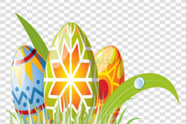 Grass Easter Egg PNG File