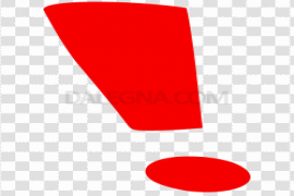 Red Exclamation Mark Download PNG Image
