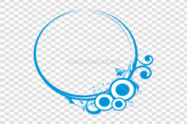 Circle Frame PNG Picture