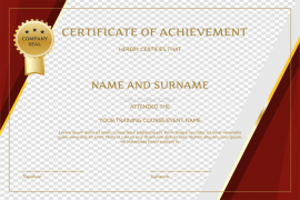 Certificate PNG Free Download