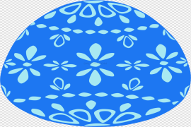 Single Easter Egg PNG Transparent Picture
