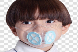 Anti-Pollution Face Mask PNG Clipart
