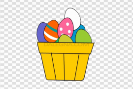 Colorful Easter Egg PNG Clipart