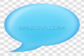 Colorful Chat Bubble PNG Image