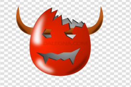 Cracked Easter Egg PNG Pic