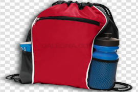 Red Sports Backpack PNG Clipart