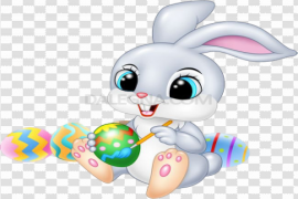 Easter Bunny PNG File