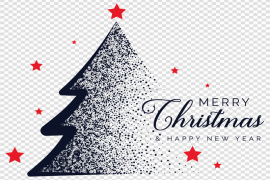 Happy Christmas PNG Free Download