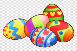 Single Easter Egg PNG Photos