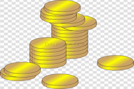 Gold Euro PNG Picture