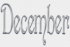 December PNG Clipart