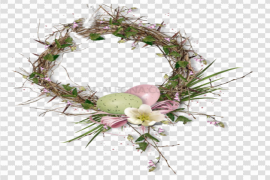Easter Flower PNG Transparent Picture