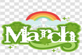 March PNG Clipart