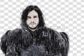 Game of Thrones Kit Harington PNG Pic